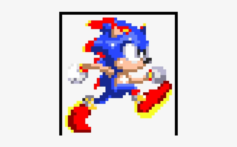 Sonic 3 Running Sprite Sonic 3 Mania Sprites Png Image Transparent Png Free Download On Seekpng