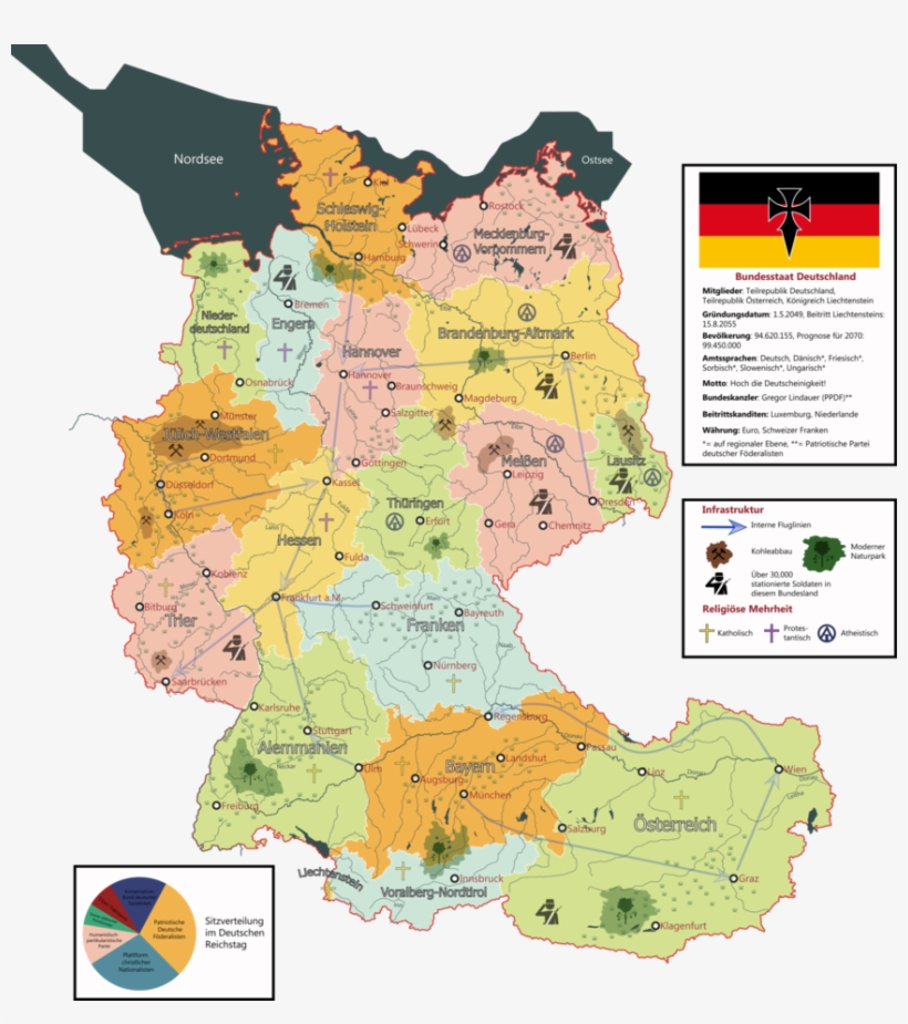 Map Of Germany Austria.My New Map Who Germany Austria And Liechtenstein Germany Austria