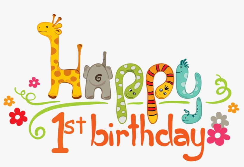 1st Birthday Png Transparent Image