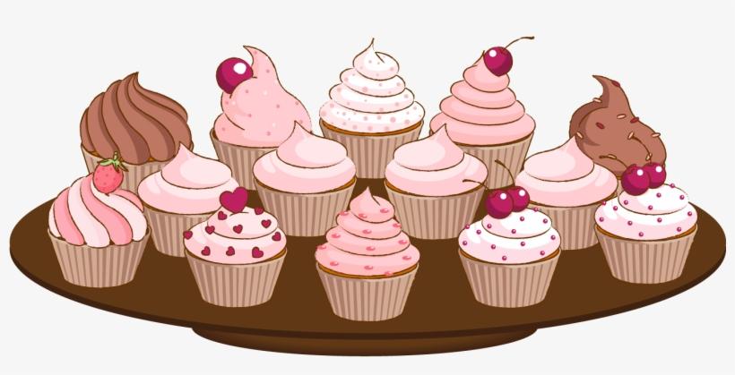 Cute Cupcake Clip Art Cute Cartoon Image Halloween - Cake ...