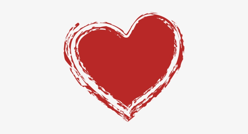 Sketched Heart Clip Art
