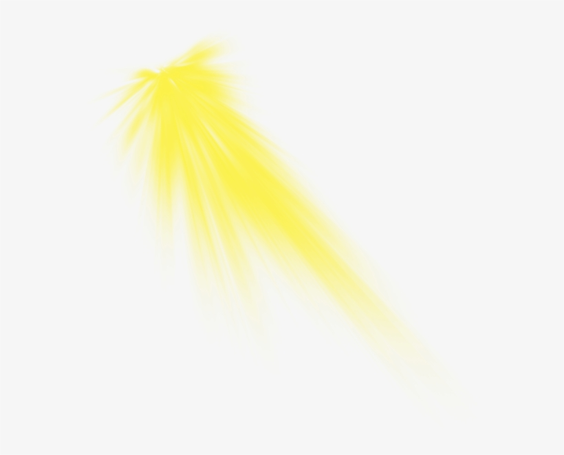 Yellow Sun Light Effect Png Beam, Light Png For Picsart, - Png
