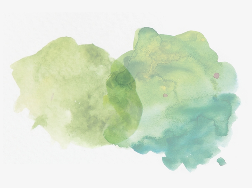 Dark Green Watercolor Splash Png@seekpng.com