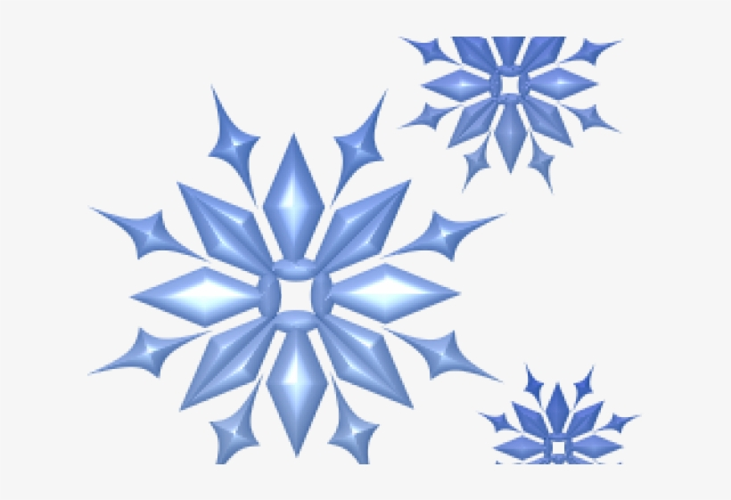 Snowflakes Clipart December Clip Art Snowflake Banner Png Image