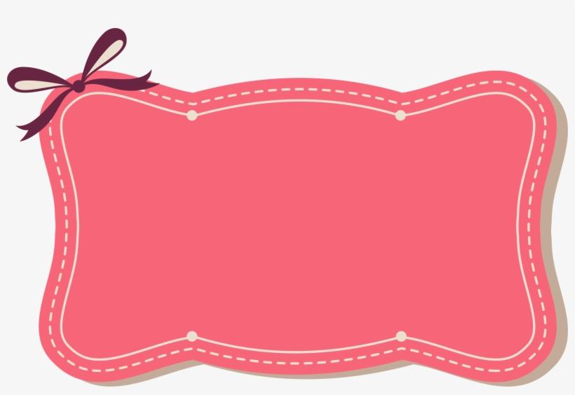 Pink Ribbon Border Png Pink Ribbon Frame Png Png Image