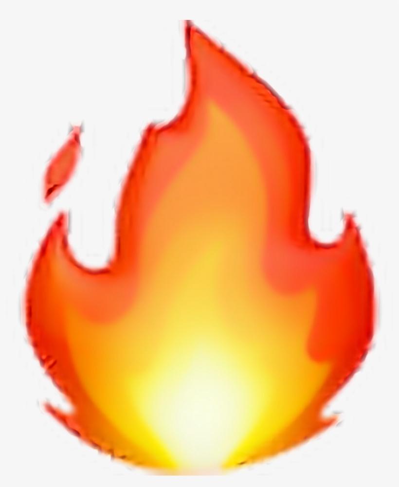 Emoji Png Edit Tumblr Overlay Freetoedit - Fire Emoji Apple