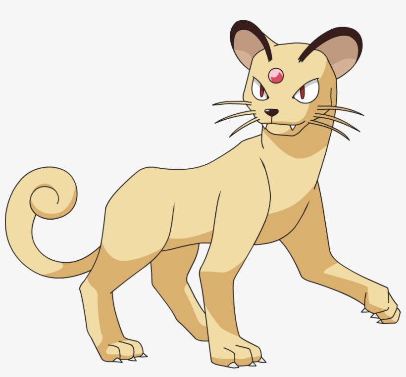 Pokemon Meowth Evolution Chart 58243 Softblog Persian Png Transpa