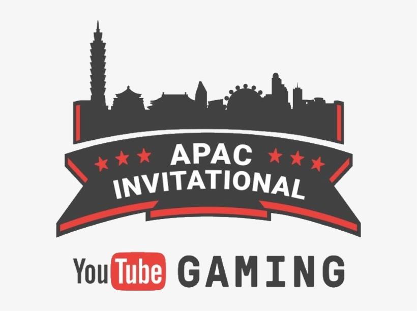 Youtube Gaming Apac Invitational Youtube Gaming Logo White
