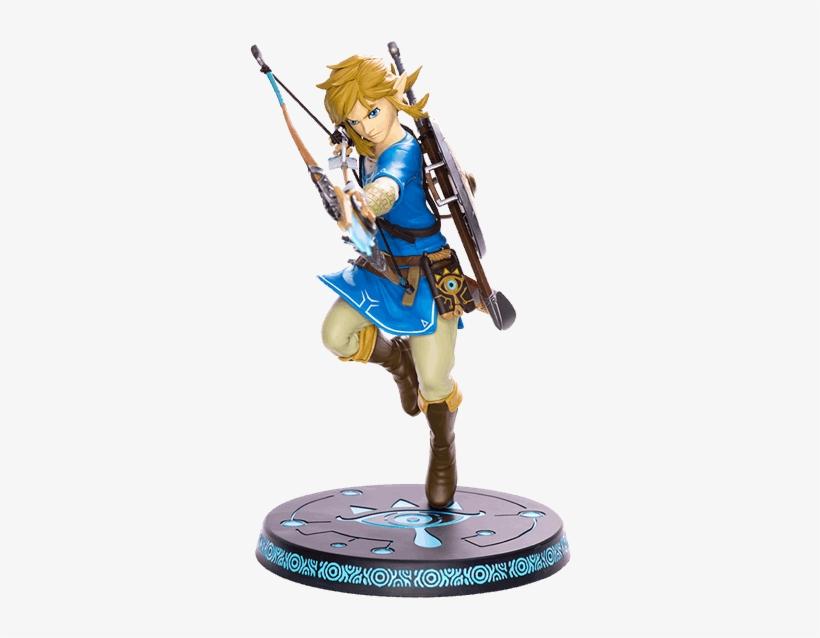 The Legend Of Zelda Breath Of The Wild Pvc Statue Link