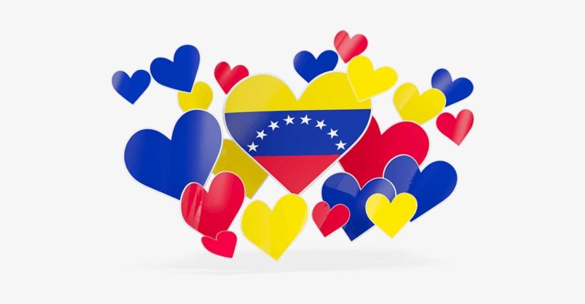 Bandera De Venezuela Actual South Korea Flag Heart Png