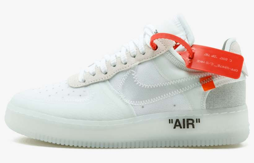nike air force one x off white