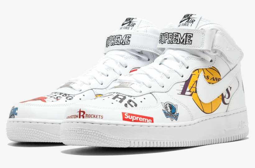 X Nba X Nike Air Force 1 White, So Don't Expect An Air