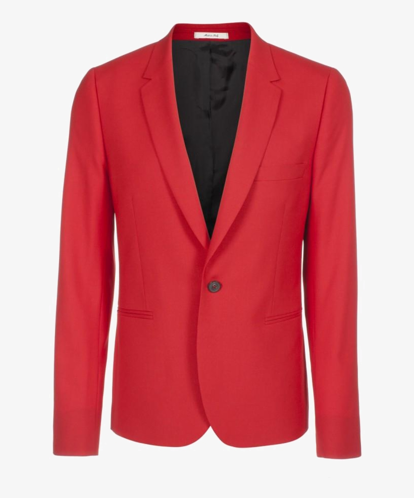 Paul Smith Red Ss13 Suit Jacket Red Suit Jacket Png Png Image