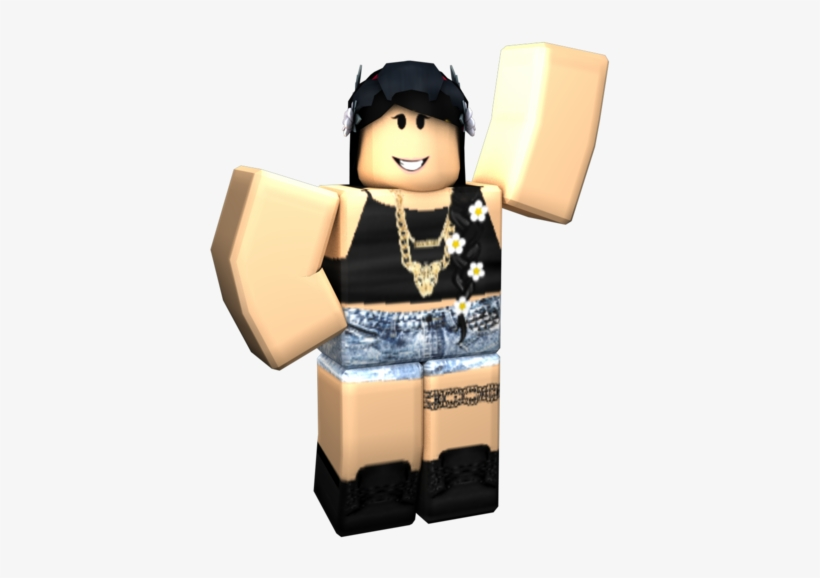 Roblox Transparent Gfx Roblox Character Girl Png Png Image