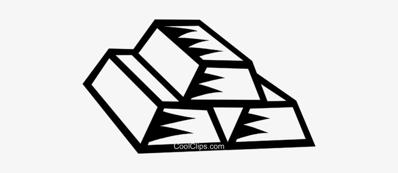 Gold Bars Royalty Free Vector Clip Art Illustration Gold Bar Clipart Black And White Png Image Transparent Png Free Download On Seekpng