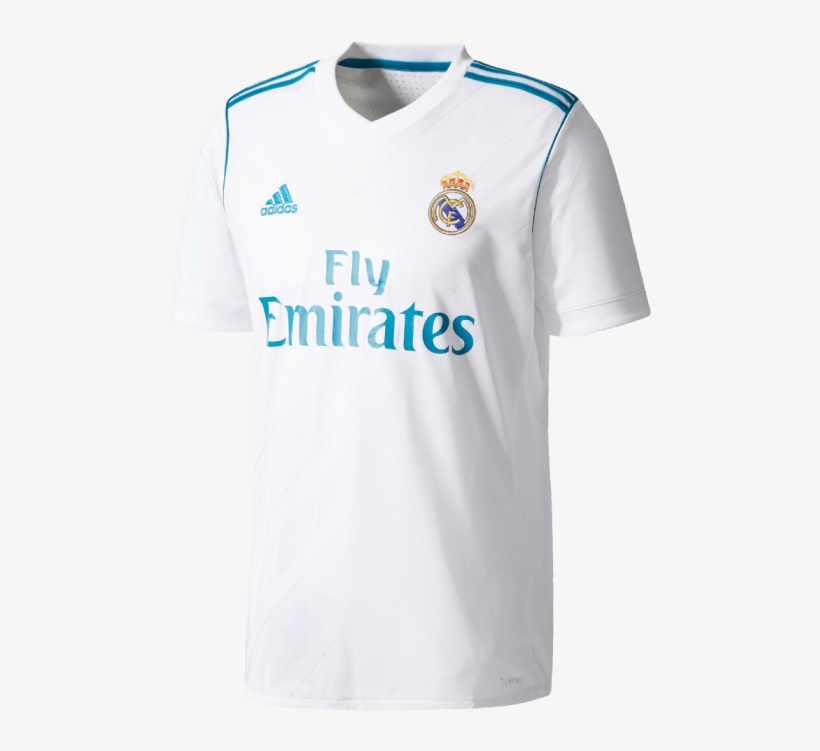 a80e8b9118e Real Madrid Jersey Png - Camiseta Real Madrid Parches, transparent png  download