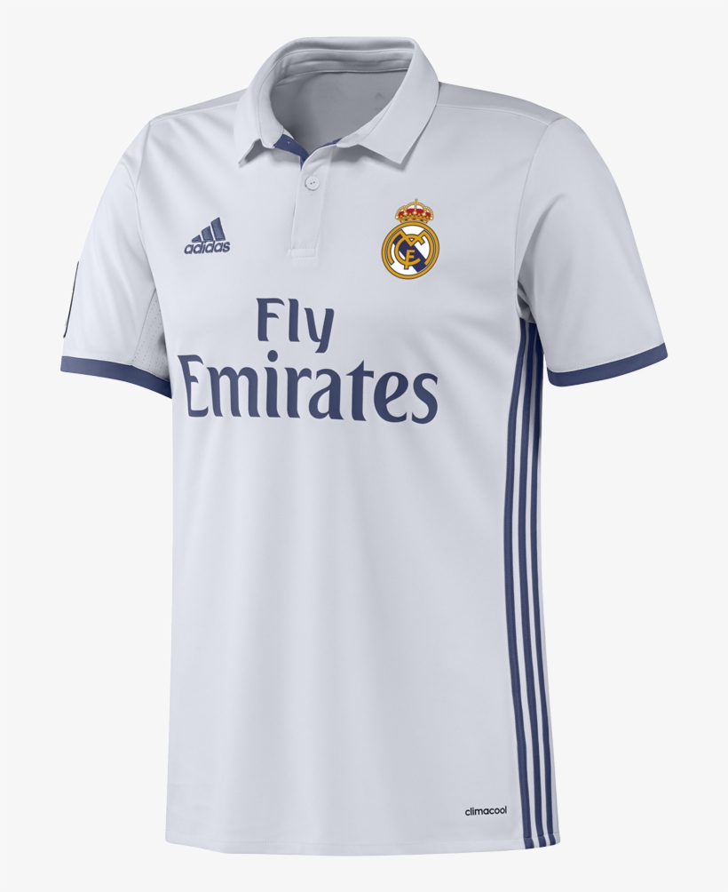 finest selection 2a95f 93440 Real Madrid T-shirt - Real Madrid Football Kit PNG Image ...
