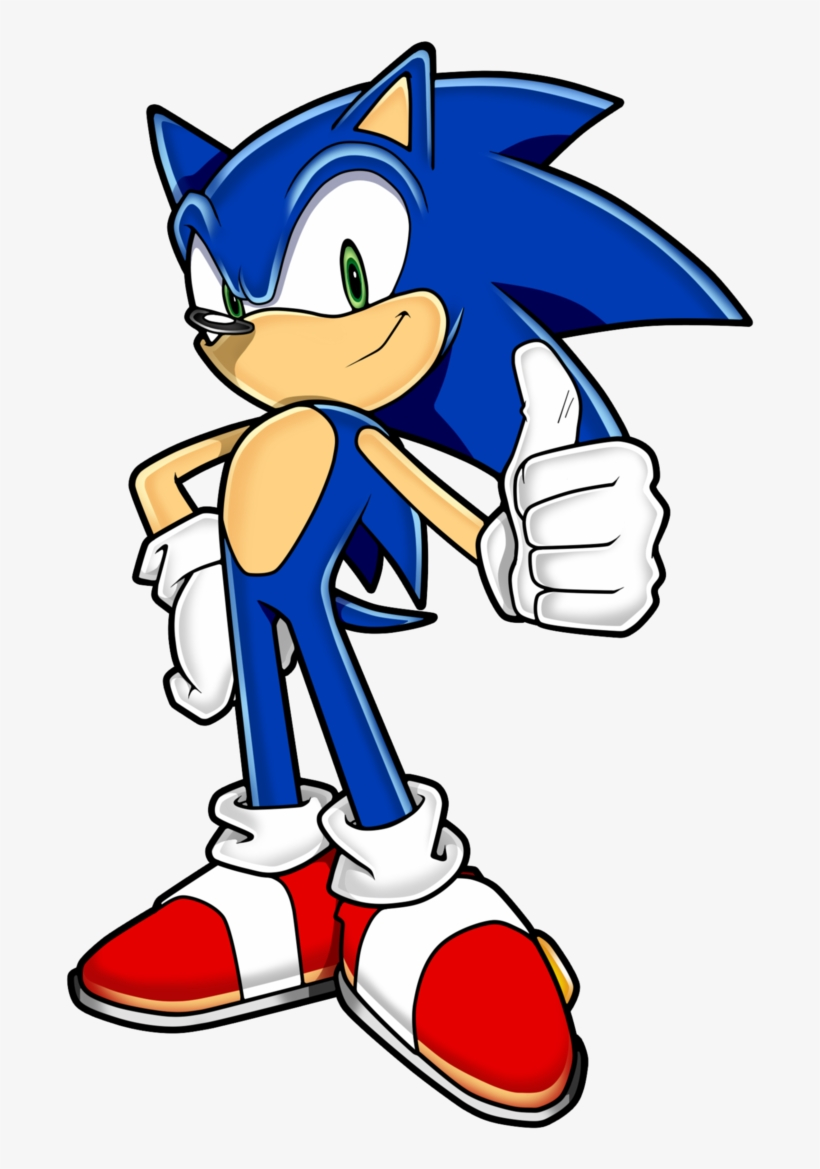 Sonic The Hedgehog Sonic The Hedgehog Sonic Channel Png Image Transparent Png Free Download On Seekpng