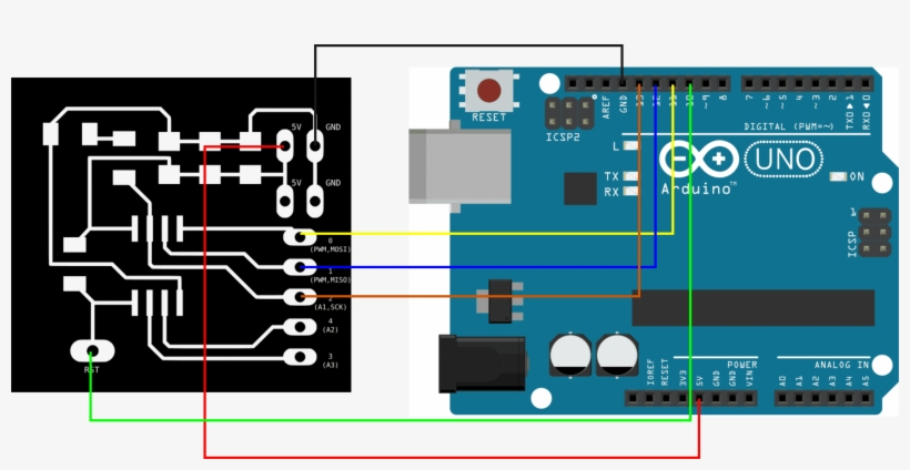 Bootloader Attiny 45 Using Arduino Uno - Switchdoc Labs Dual