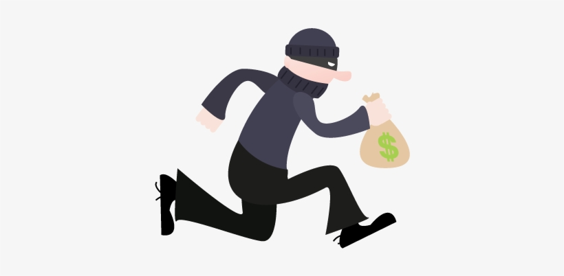 Thief, Robber Png - Cartoon Bank Robber Png PNG Image | Transparent PNG  Free Download on SeekPNG