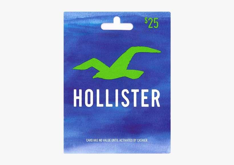 Hollister $25 Gift Card PNG Image
