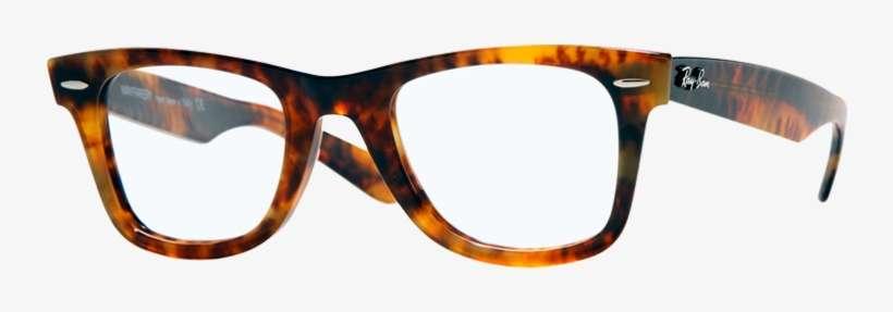 275ace6ce0 Rayban - Ray Ban Wayfarer Eyeglasses Tortoise PNG Image ...