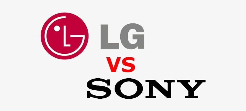 Lg Vs Sony - Sony Vs Lg Logo PNG Image | Transparent PNG Free