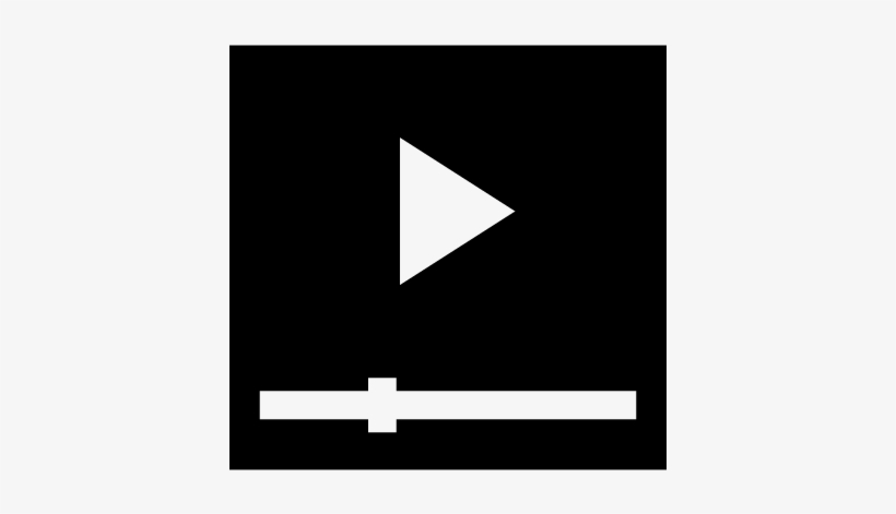 Play Video Button Vector - Video Recorder Icon Png White PNG