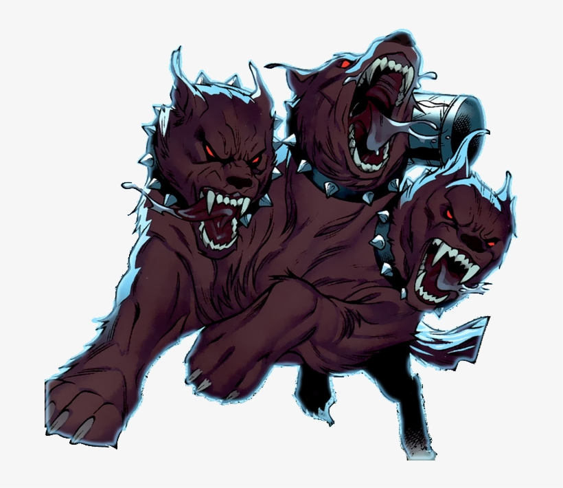 Cerberus Dog-like Form - Wwe Shield Hounds Of Justice Logo