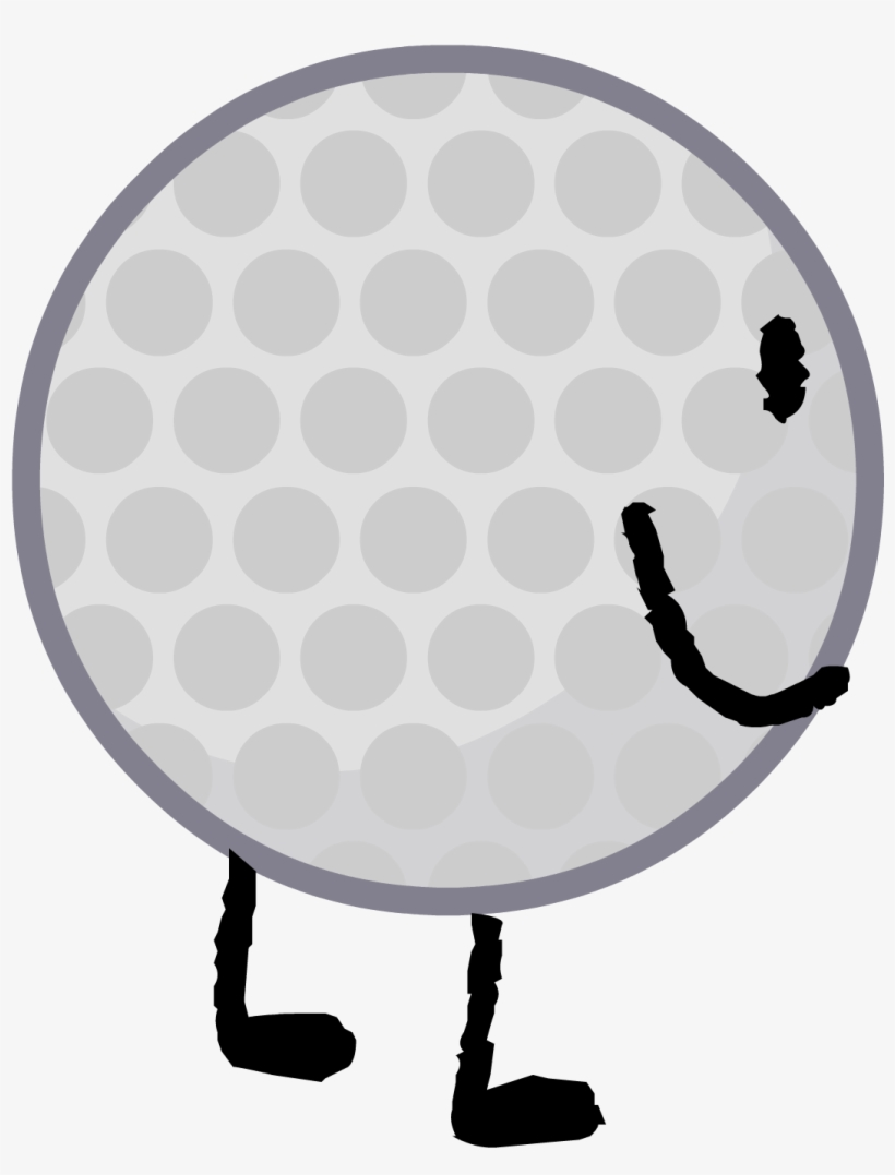Golf Ball Intro 2 - Golf Ball Bfb Intro PNG Image | Transparent PNG
