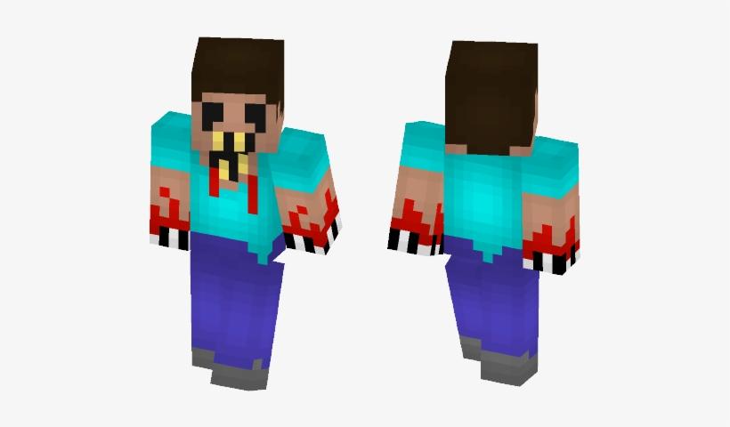 Steve Fanmade Creepypasta Skin Minecraft Mobile Legends Png Image Transparent Png Free Download On Seekpng