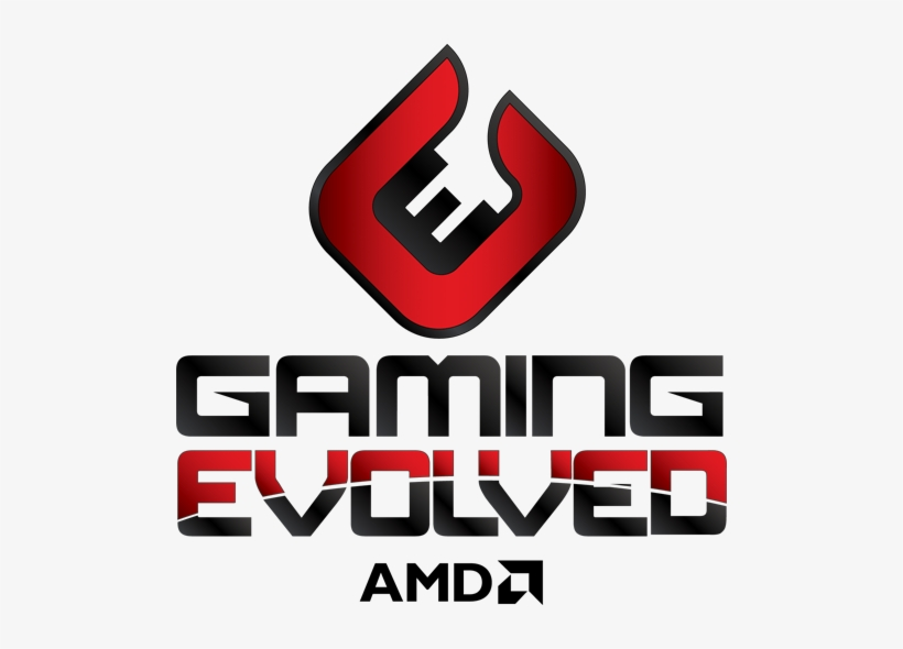 Last Month At Our Unveiling Of The Amd Radeon R9 And Amd Gaming Evolved Logo Png Image Transparent Png Free Download On Seekpng