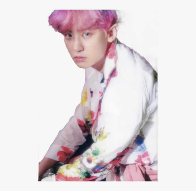 Chanyeol Transparent Pink Chanyeol The War Photoshoot Png