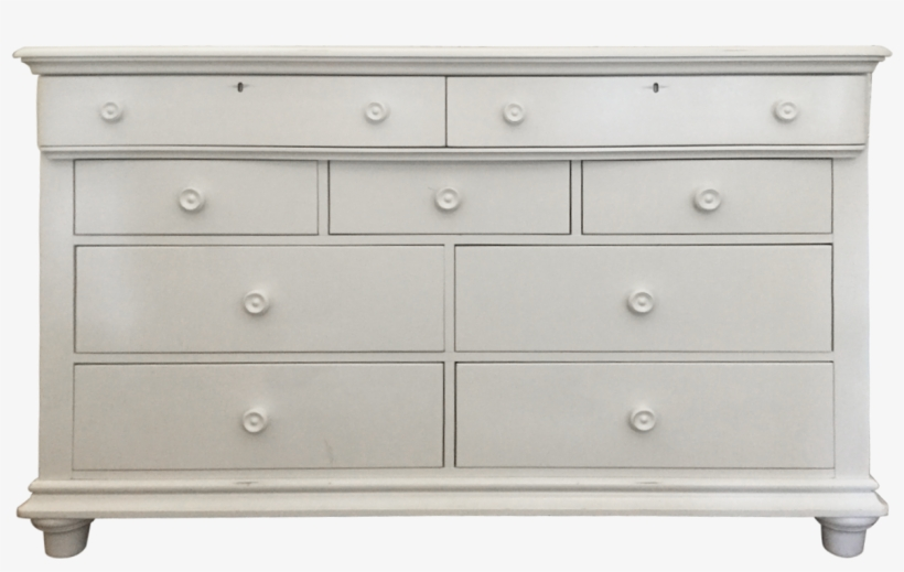 4 Drawer Dresser Black Gloss Chest