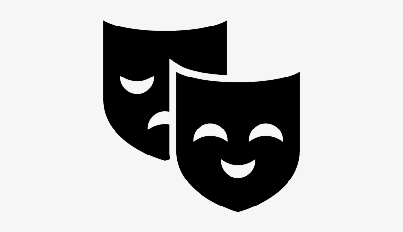 Theater Masks Vector Theatre Icon Png Transparent Png Image Transparent Png Free Download On Seekpng