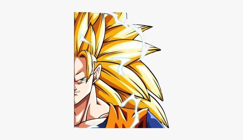Dragon Ball Z Super Saiyan Goku Face Dbz Son Goku