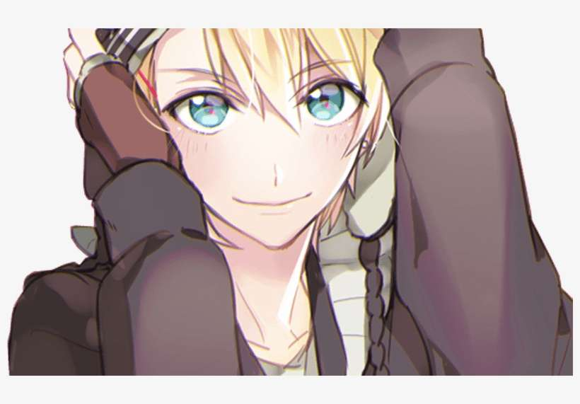 Animeboy Boy Cute Hot Blondy Blue Eyes Anime Cute Anime Guy Blonde Png Image Transparent Png Free Download On Seekpng