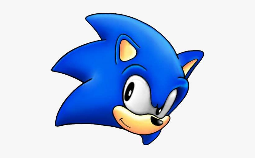 Sonic Head Png Image Library Download Sonic The Hedgehog Head