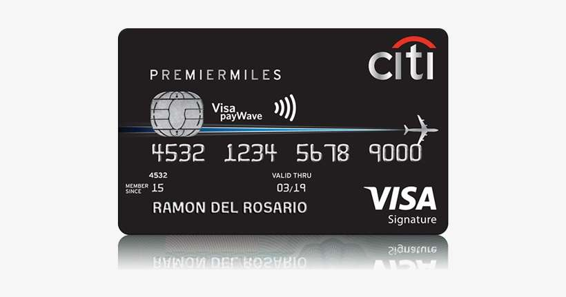 Citi Premiermiles Visa Card - Citibank Premier Miles Card PNG