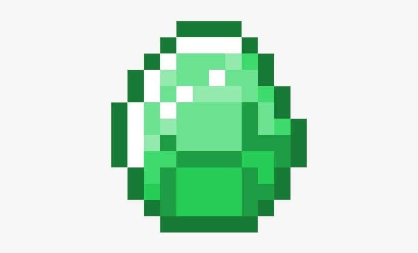 Emerald - Minecraft Diamond Transparent@seekpng.com