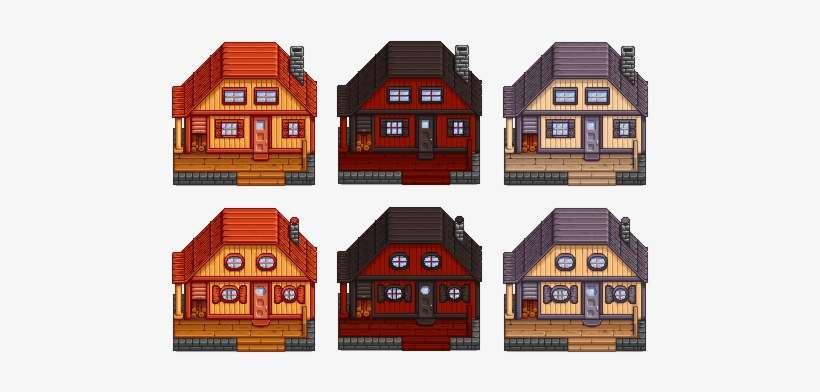 idea] Exterior House Customisationimage - Stardew Valley