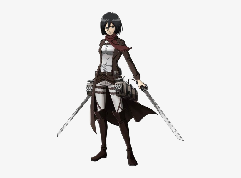 Mikasa Render 2 By Lextranges D6xgwiz Attack On Titan Mikasa Full Body Png Image Transparent Png Free Download On Seekpng