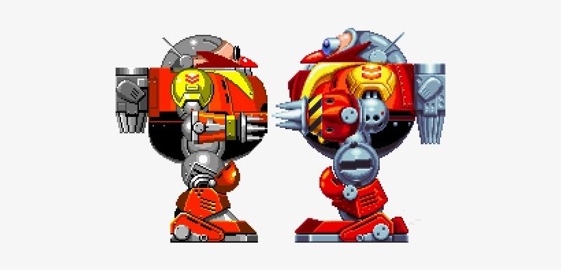 Sonic The Hedgeblog Death Egg Robot Sonic Mania Sprites Png Image Transparent Png Free Download On Seekpng
