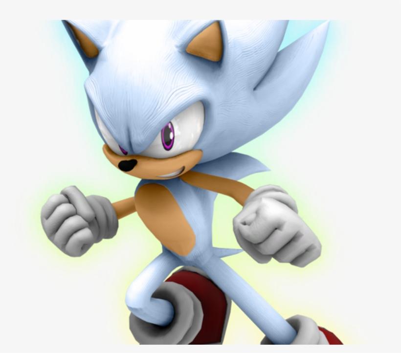Hyper Sonic By Kuroispeedster55 On Deviantart Sonic The Hedgehog Png Image Transparent Png Free Download On Seekpng