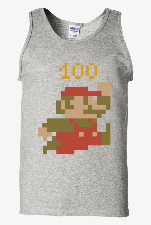 Nintendo Super Mario Bros 8 Bit Pixel Sprite T Shirt - Mario
