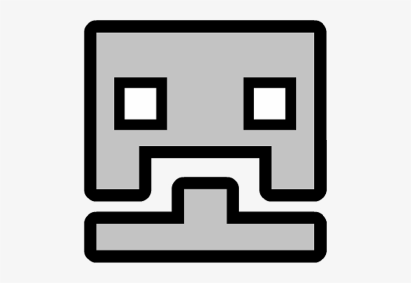 Contemporary Geometry Dash Coloring Pages Ensign Ideas Geometry Dash Cube Icons Png Image Transparent Png Free Download On Seekpng