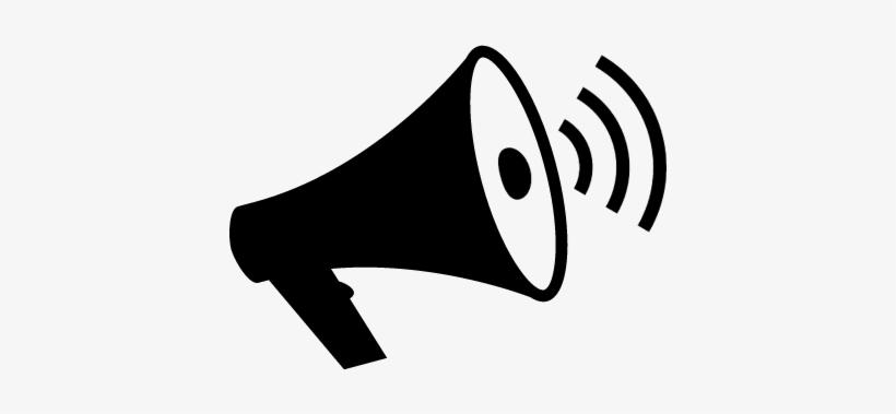 loudspeaker with sound waves vector megafono png png image transparent png free download on seekpng loudspeaker with sound waves vector