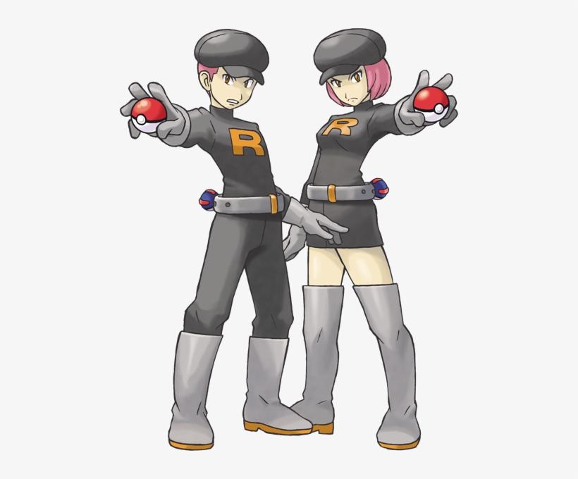 da3340509 Team Rocket Grunts Artwork - Pokemon Ultra Team Rocket PNG Image ...