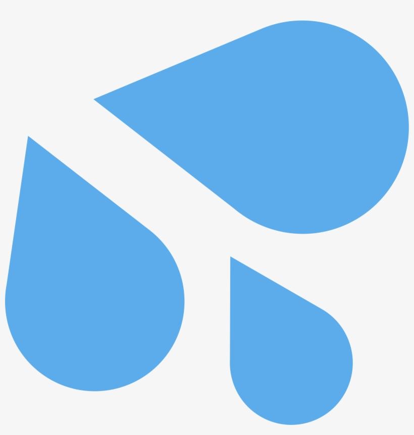 Wet Emoji Png - White Sweat Drops Emoji PNG Image