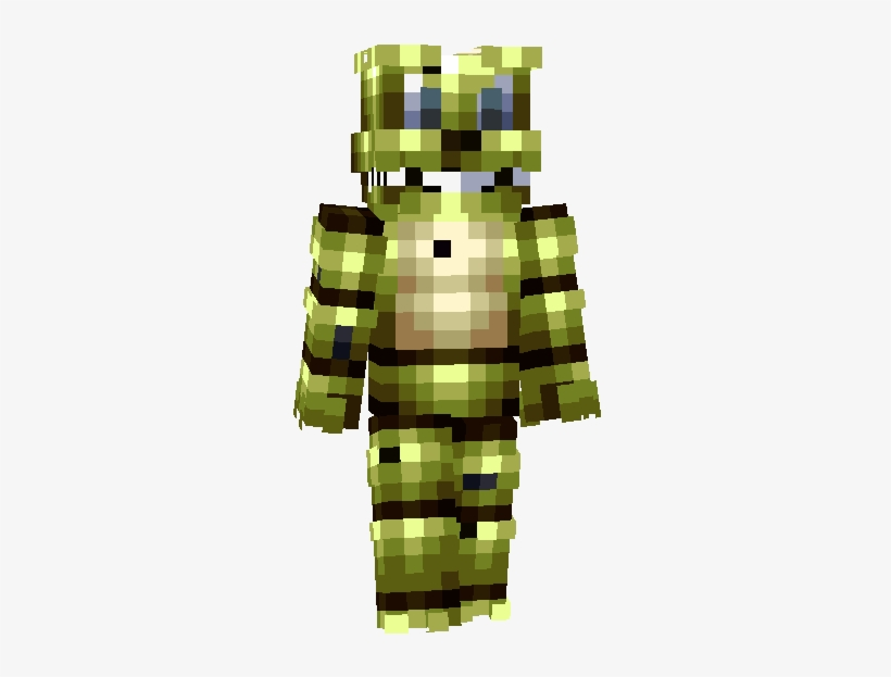 Not So Much To Say - Fnaf World Minecraft Skin Springtrap
